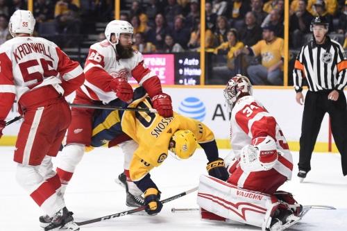 Gamethread: Red Wings at Predators