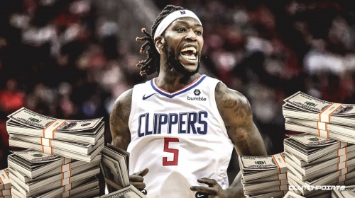Clippers' Montrezl Harrell fined $25,000 for inappropriate language
