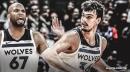 Timberwolves will continue to start Dario Saric over Taj Gibson