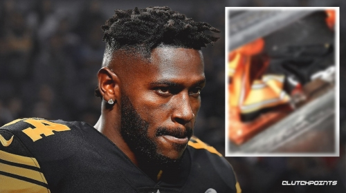 Steelers video: Pittsburgh fan burns Antonio Brown jersey in fireplace