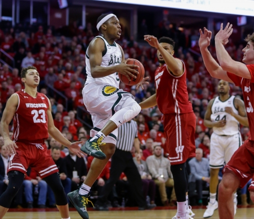How Michigan State basketball stole crucial win at Wisconsin, 67-59