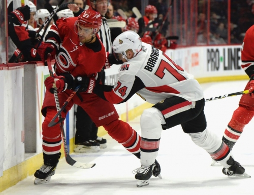 Hurricanes power past Senators with 4-goal 3rd period