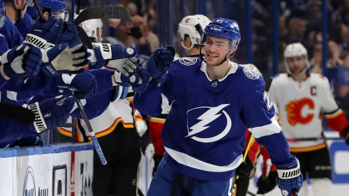 Kucherov, Point pace Lightning to win over Flames