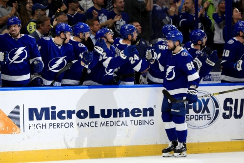 Kucherov leads the way as Lightning double up Flames