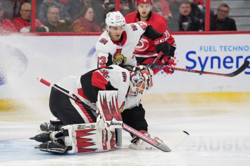 Sens Fall to Canes in 3rd Period Collapse
