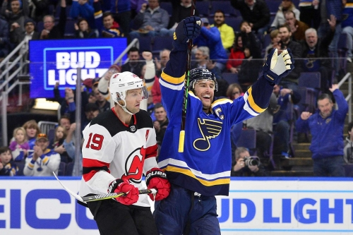 New Jersey Devils Embarrassed & Dominated by St. Louis Blues