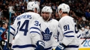 Kadri, Kapanen score 22 seconds apart as Maple Leafs beat Avs