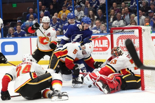 Calgary Flames 3 @ Tampa Bay Lightning 6: Calgary Was A No Show In Tampa