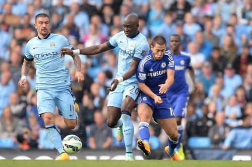 Man City's forgotten former record signing Eliaquim Mangala moves quietly towards the exit door