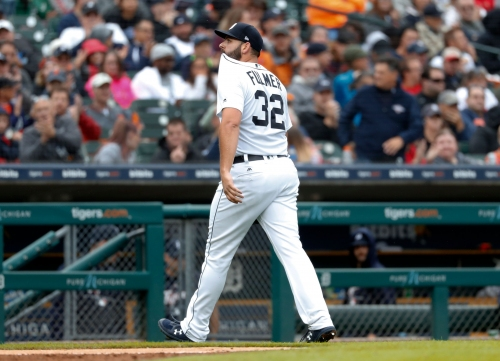 How a knee brace is helping Detroit Tigers' Michael Fulmer improve