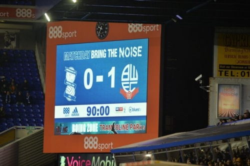 '**** the EFL' and other findings from Birmingham City's defeat to Bolton