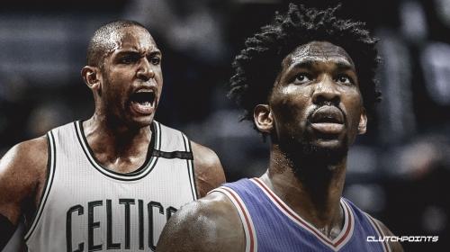 Joel Embiid isn't giving Al Horford credit after Celtics' win over 76ers