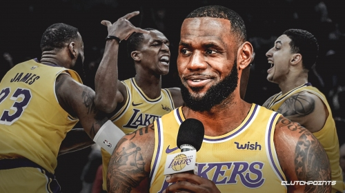 LeBron James isn't panicking when it comes to Lakers' playoff chances
