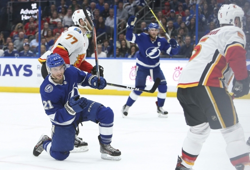 Lightning-Flames: Observations from Tampa Bay's scoring-frenzy matchup