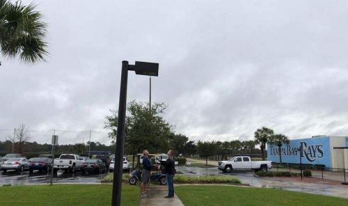 Live from Port Charlotte: Rainy start to spring for Rays