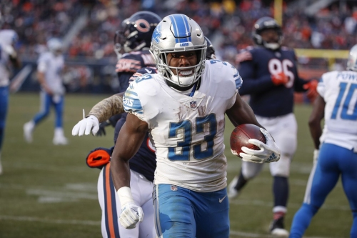 Lions' OC Bevell impressed by Kerryon Johnson's preparation