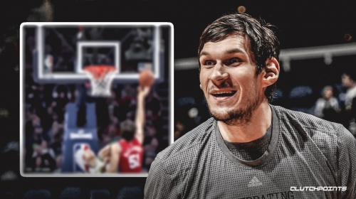 Video: Sixers' Boban Marjanovic grabs a rebound without even jumping