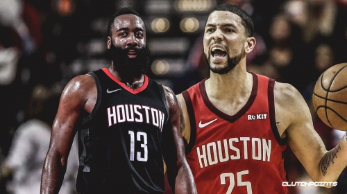 Rockets' Austin Rivers has no idea how MVP race is a debate based on what James Harden is doing