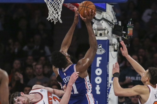 Sixers look to get back on track against dreadful Knicks squad