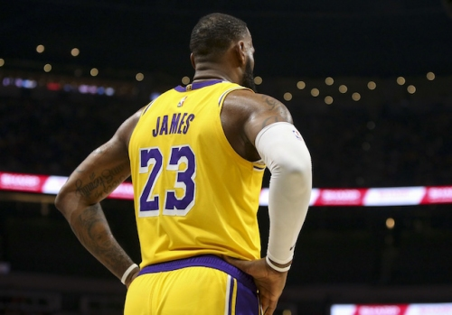 WATCH: Hawks Fans Taunt LeBron James With Chant Touting Kobe Bryant As Better Player
