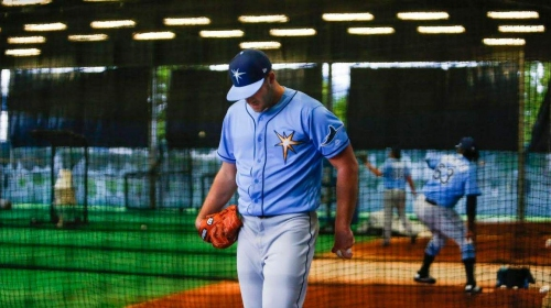Live from Port Charlotte: Rays get work in despite rain