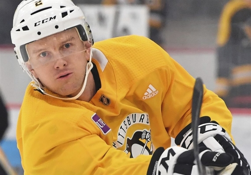 Penguins turn to Chad Ruhwedel with Olli Maatta out, Justin Schultz not quite ready