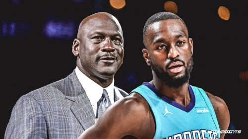 Hornets' Kemba Walker says Michael Jordan was talking trash during their first interaction