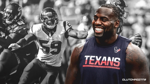 Texans LB Whitney Mercilus appreciated that he was able to show versatility last season