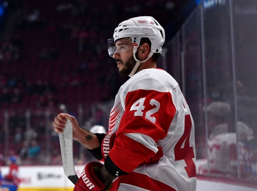 Martin Frk's time with Detroit Red Wings coming to an end
