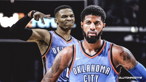 Thunder's Russell Westbrook says 'consistency' is Paul George's route to MVP