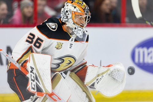 Anaheim Ducks Place Goaltenders John Gibson And Chad Johnson On Injured Reserve