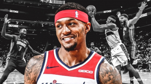 Wizards' Bradley Beal jokes he might get called for a travel 30 times after recent non-call by refs