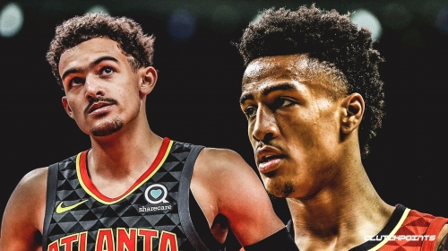 Hawks' John Collins teases potential Trae Young appearance in Slam Dunk Contest
