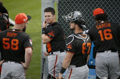 Giants roster churn continues, catcher competition takes shape