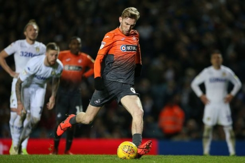 Swansea City boss Graham Potter gives Oli McBurnie update and delivers verdict on Daniel James' display at Leeds United
