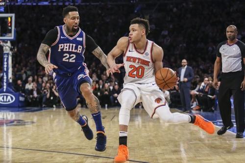 Game Thread; Knicks vs. 76ers- 02/13/19