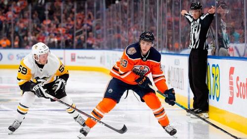 NHL Live Tracker: Oilers vs. Penguins