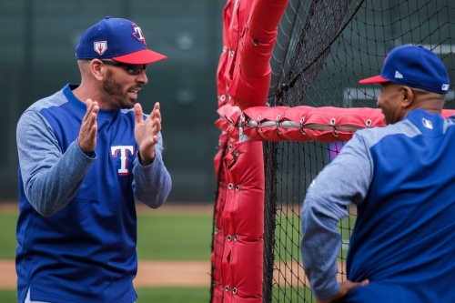 'It's not really even close': Here's the biggest difference Chris Woodward sees in the Rangers from his time on Dodgers coaching staff