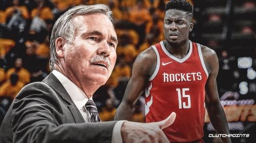 Rockets coach Mike D'Antoni hints about Clint Capela returning soon