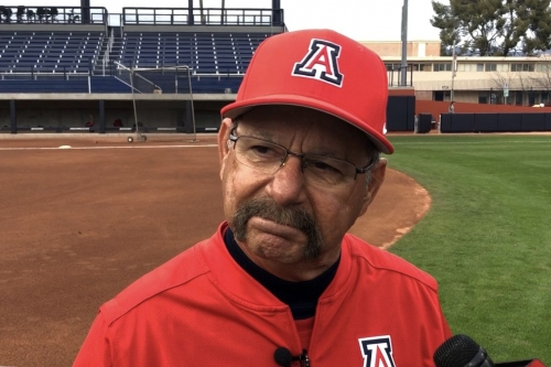 WATCH: Mike Candrea, Arizona players discuss remodeled Hillenbrand Stadium