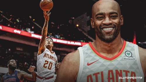 Hawks' Vince Carter tells John Collins 'don't miss' in Slam Dunk Contest
