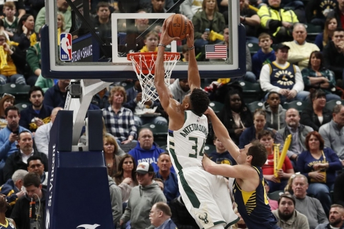 Rapid Recap: Bucks 106, Pacers 97