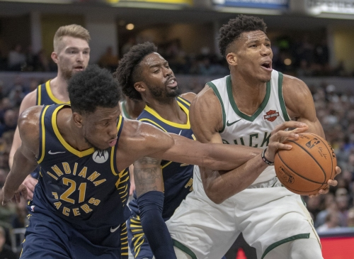 Pacers grind to halt late, head into All-Star break with loss to division foe Bucks