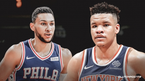 Video: Knicks rookie Kevin Knox throws down monster dunk on Sixers' Ben Simmons