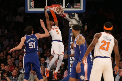 76ers 126, Knicks 111: Please get Mitchell Robinson some better teammates