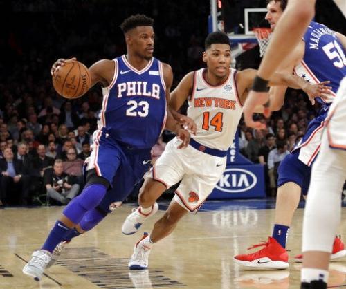 Embiid, 76ers win 126-111, hand Knicks 18th straight loss