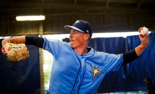 Young arms excite, plus other Rays camp notes on a soggy day