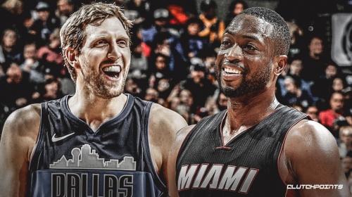 Video: Heat's Dwyane Wade, Mavs' Dirk Nowitzki get standing ovation