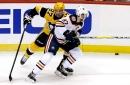 Crosby stays unbeaten against McDavid as Pens grab victory over Oilers