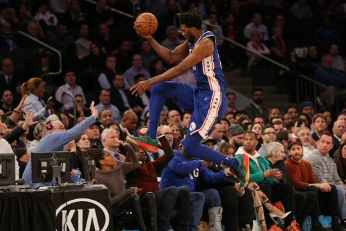 Sixers outlast a sinking Knicks team in 126-111 victory